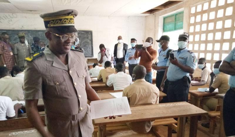 Le préfet Ibrahima Cissé a prévenu les candidats contre la fraude. (Saint-Tra Bi)