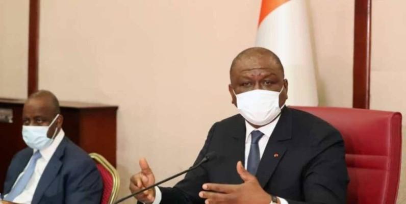 Hamed Bakayoko, Premier ministre par intérim. (DR)