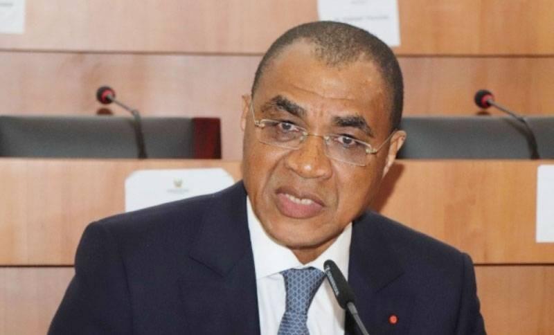 Le ministre Adama Coulibaly était face aux députés de la Commission des affaires économiques et financières. (DR)