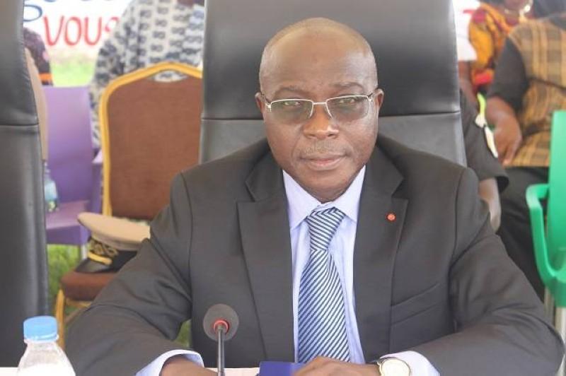 Bouaké Fofana, directeur général de la Sicogi, a fait de grandes annonces à propos de la renaissance de la société d'Etat. (DR)