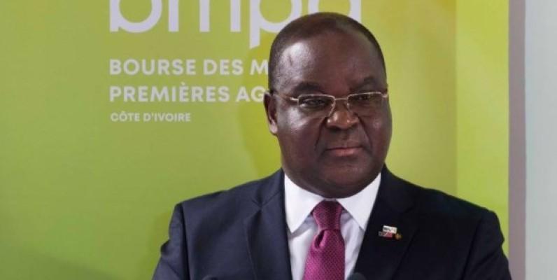 Edoh Kossi Amenounvé, directeur général de la Brvm. (DR)