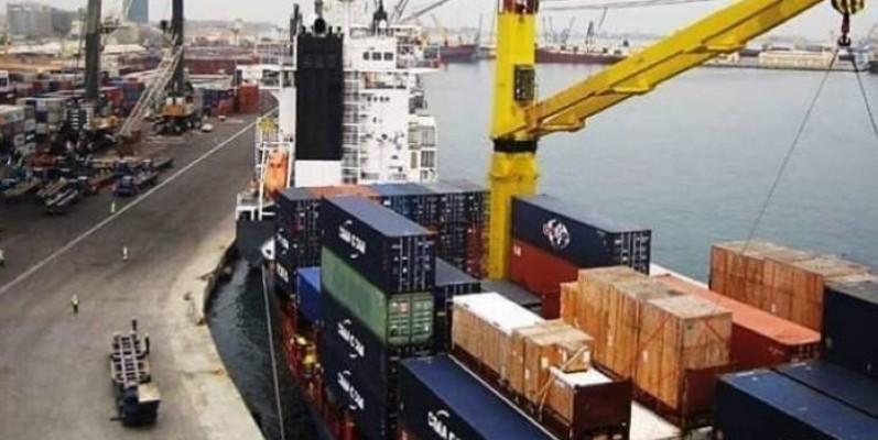 Le trafic global au Port autonome de San Pedro est en baisse de de 12% comparativement à la même période en 2019. (Dr)