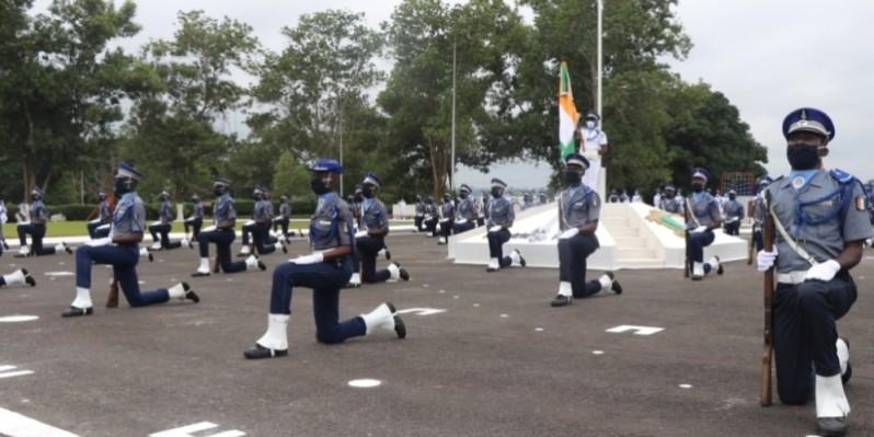 Les nouveaux gendarmes ont été invités à travailler avec abnégation. (DR)
