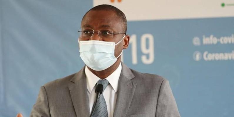 Sidi Tiémoko Touré, ministre de la Communication et des Médias, par ailleurs porte-parole du gouvernement. (DR)
