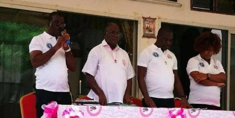 Le comité d'organisation face à la presse, lors du lancement des festivités. (DR)