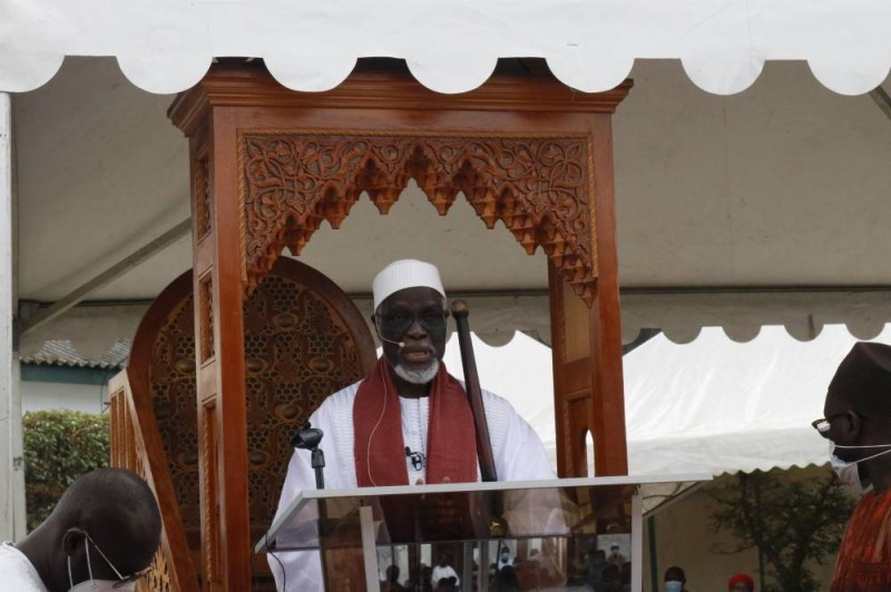Le Cheick Aïma Mamadou Traoré invite les politiques à la tolérance. (Bavane)