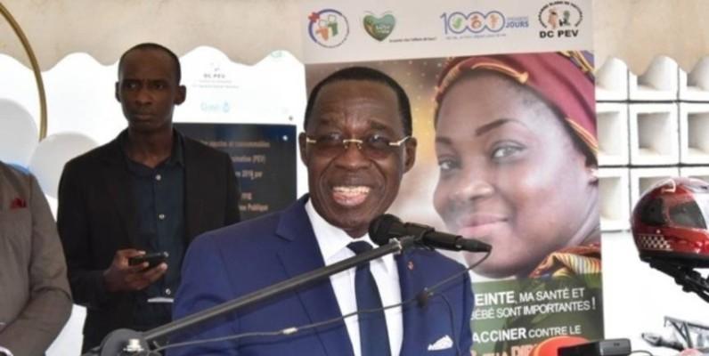 Le ministre de la Santé et de l'Hygiène publique(Mshp), Dr Aka Aouélé.(DR)