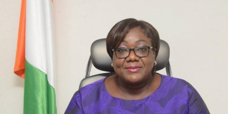 Anne Ouloto, ministre de l'Assainissement et de la Salubrité.(DR)