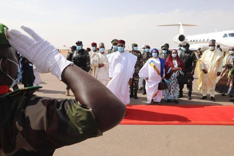 La cérémonie commémorant les 60 ans du Niger a été présidée par le Chef de l'Etat, Issoufou Mahamadou. (DR)