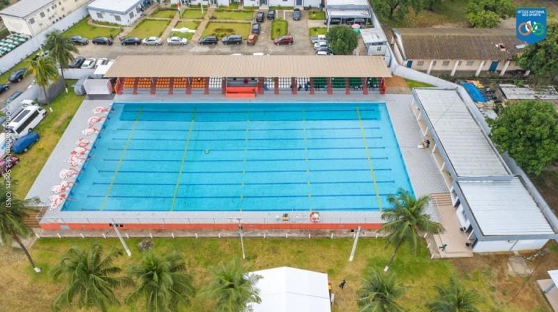 Le nouveau visage de la piscine d'État de Treichville (DR)
