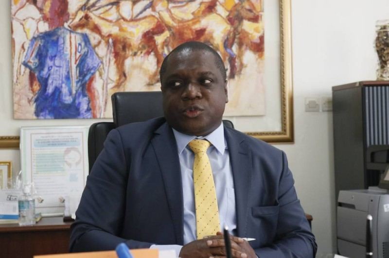 Mesmin Komoé président du GSE (Bavane)