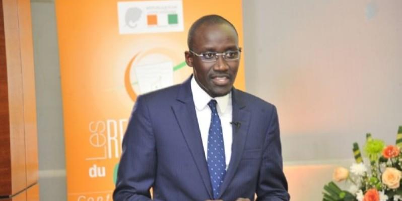 Abdourahmane Cissé, ministre du Pétrole, de l'Énergie et des Énergies renouvelables.