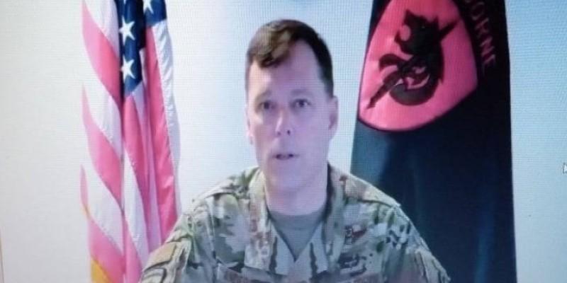 Le commandant du Commandement des opérations spéciales des États-Unis en Afrique. (Dr)