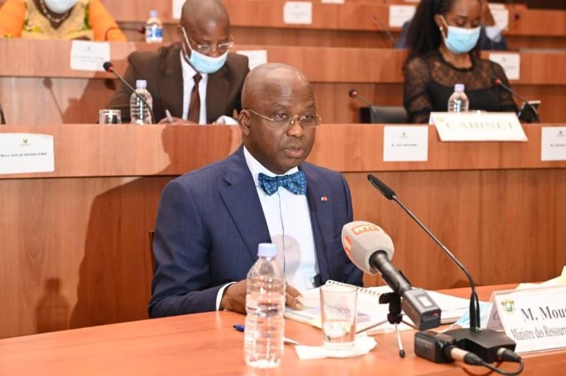 Le ministre des Ressource animales et halieutiques, Moussa Dosso. (DR)