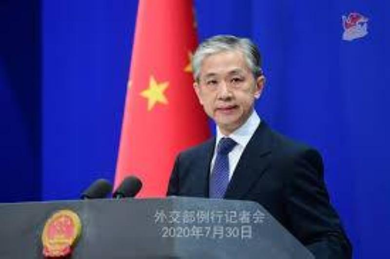 Wang Wenbin, porte-parole du ministère chinois des Affaires étrangères