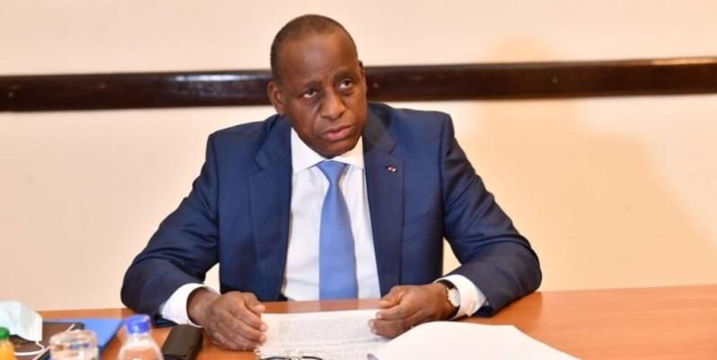 Ally Coulibaly, ministre des affaires étrangères. (DR)