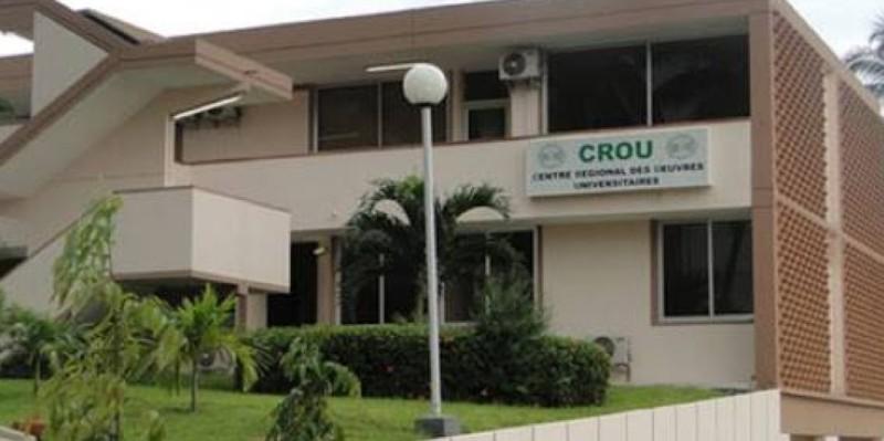 Un aperçu du Centre régional des œuvres universitaires d'Abidjan. (DR)
