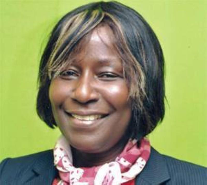 Mme Aimée Zebeyoux, secrétaire d'Etat chargée des Droits de l'Homme. (DR)