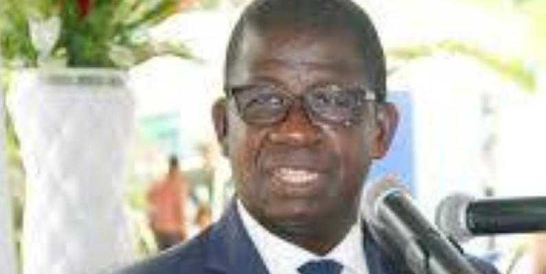 Hien Yacouba Sié a, au nom de la communauté portuaire d'Abidjan, fait un important don au gouvernement ivoirien pour lutter contre la Covid-19. (Photo d'Archives)