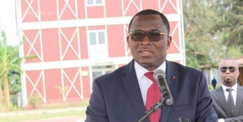 Paulin Claude Danho, ministre des Sports. (DR)