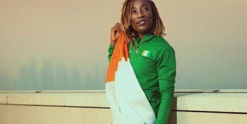La sprinteuse ivoirienne, Marie-Josée Ta Lou. (DR)