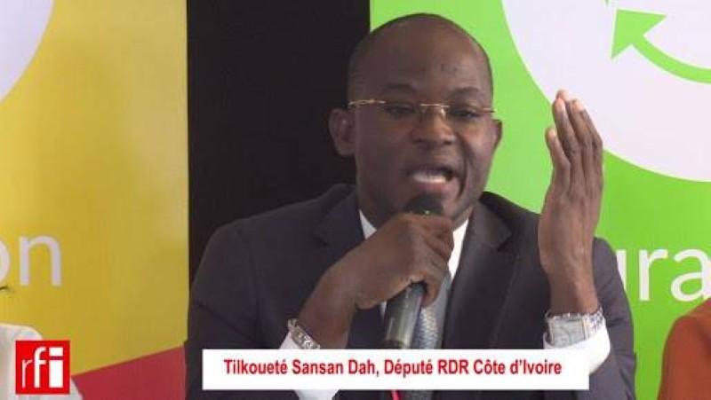 Dah Sansan, président national de l'Ujrhd. (DR)
