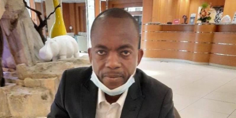 Victor Nanklan Touré, président de la Coalition de la Société civile pour la Paix et le développement démocratique en Côte d'Ivoire (Cosopci). (DR)
