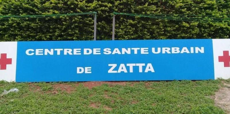 Une vue du Centre de santé urbain de Zatta, la localité où le drame est survenu. (Dr)
