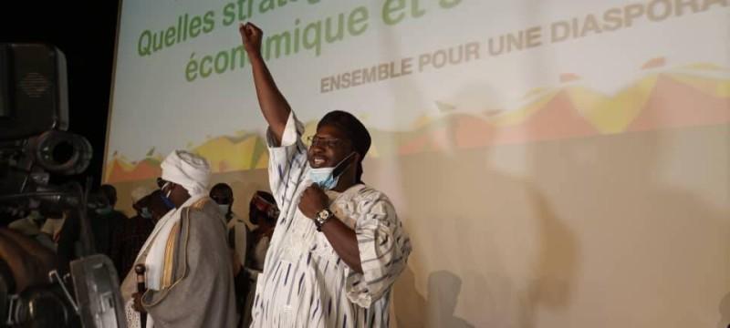 """Moumouni Pograwa, le président du mouvement """"C'est le moment"""" reconduit lors du 1er congrès extraordinaire, le samedi 8 août 2020"""