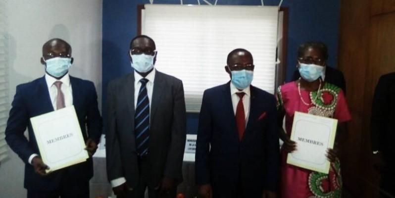 Une photo de famille avec des membres de l'AIPR. (DR)