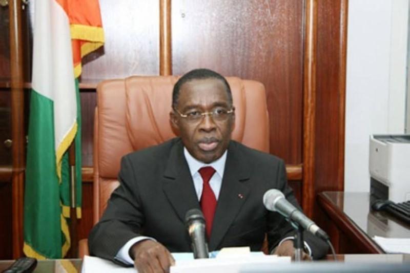 Le ministre de la Santé et de l'Hygiène publique, Dr Eugène Aka Aouélé. (DR)