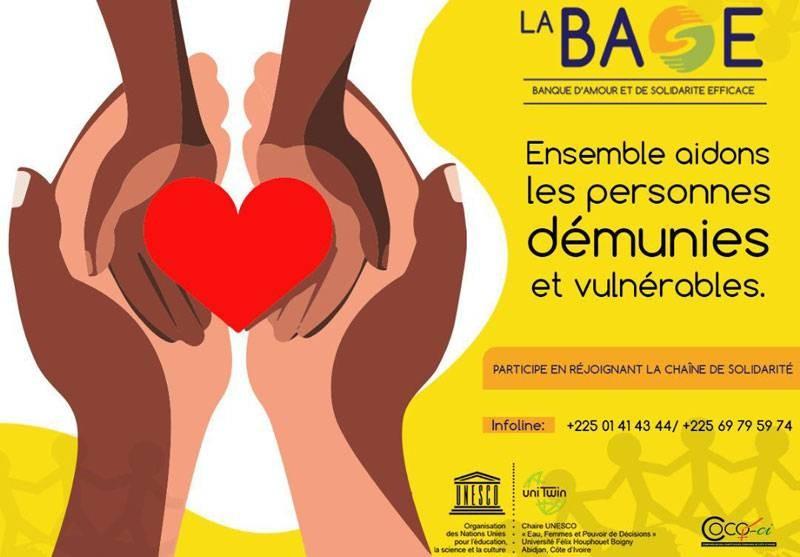 La Banque d'amour et de solidarité efficace a volé au secours d'une famille vulnérable du fait du Covid-19. (DR)