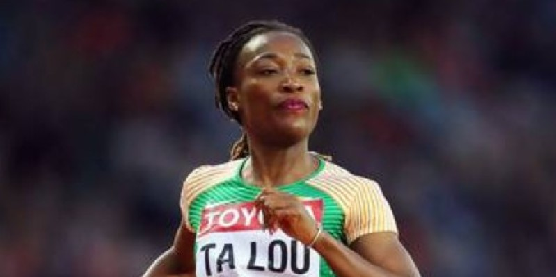 La sprinteuse ivoirienne Marie-Josée Ta Lou. (Dr)