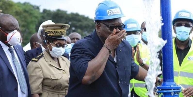Laurent Tchagba, ministre de l'hydraulique. (DR)