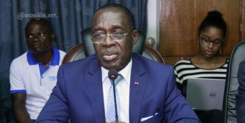 Le ministre de la Santé et de l'Hygiène publique (Mshp), Dr Aka Aouélé. (DR)