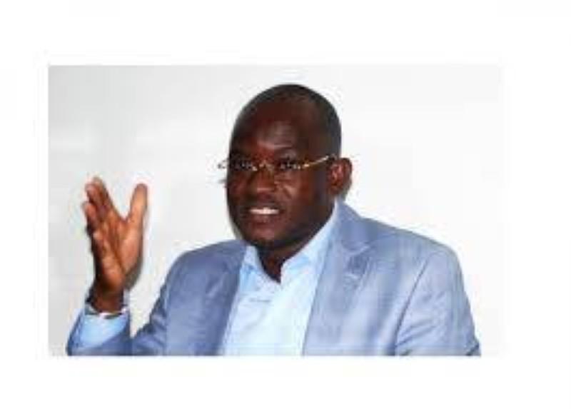 Dah Sansan, président de l'Union des jeunes du Rhdp (Ujrhdp). (DR)