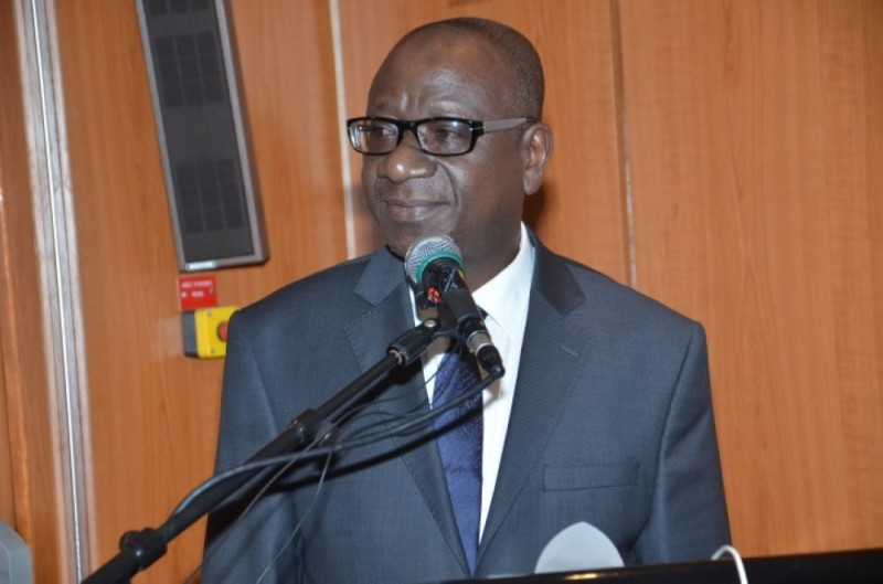 Ouattara Sié Abou, directeur général des Impôts. (DR)