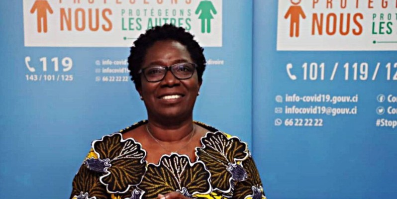 Edith Kouassy, conseiller technique du ministre de la santé et de l'hygiène publique. (DR)