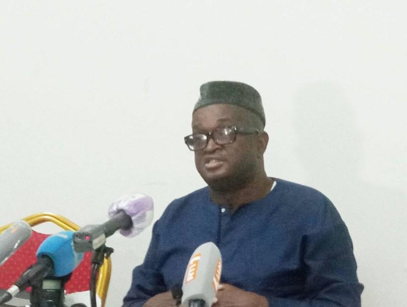 Mamadou Soumahoro, vice président de la Commission électoral (Ph: Salif D. CHEICKNA)