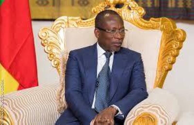 Patrice Talon, candidat de Moele-Bénin