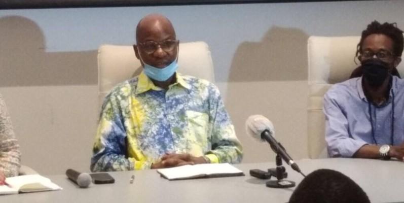 Le Pr Yacouba Konaté, directeur artistique, a invité les populations à s'approprier le musée. (DR)