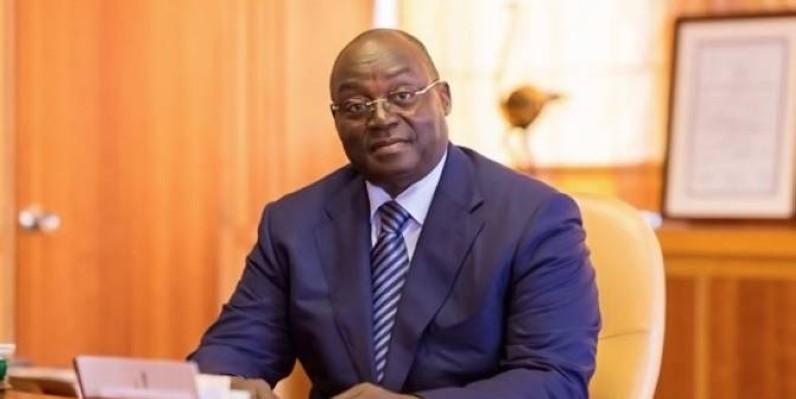 Tiémoko Meyliet KONE, gouverneur de la BCEAO. (DR)