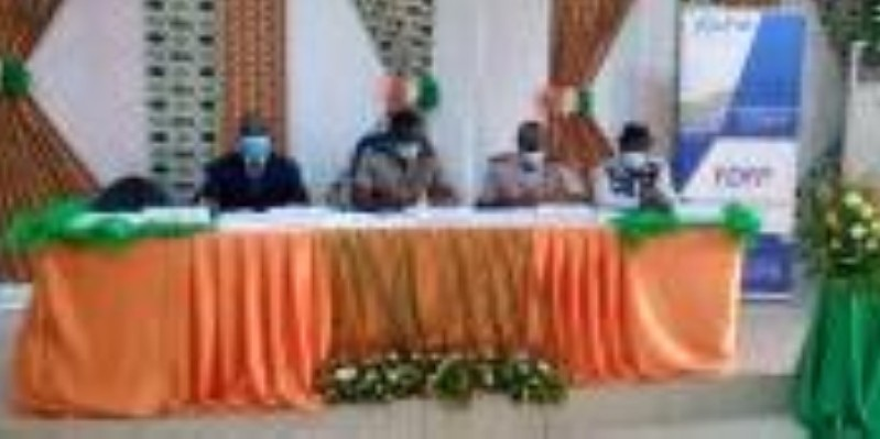 La délégation du Fdfp a fait le bilan de ses activités à Séguéla. (Fdfp)