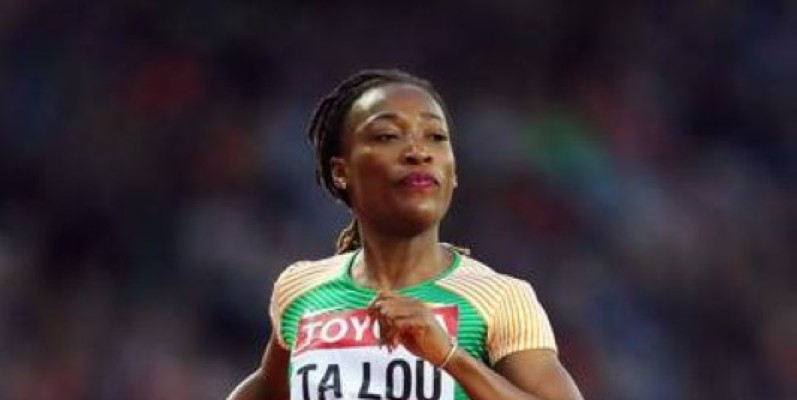 La sprinteuse ivoirienne Marie Josée Ta Lou. (DR)