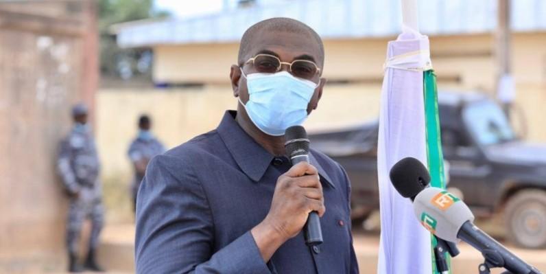 Félix Anoblé a invité les opérateurs économiques à saisir l'opportunité pour formaliser leurs activités. (DR)