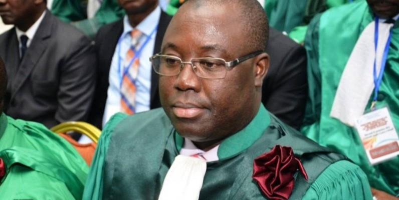 Lacina Coulibaly, président de l'Université de Man. (DR)