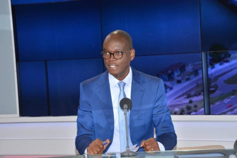 Le Secrétaire d'Etat au renforcement des capacités, Epiphane Zoro-Bi Ballo, cadre du RHDP. (DR)