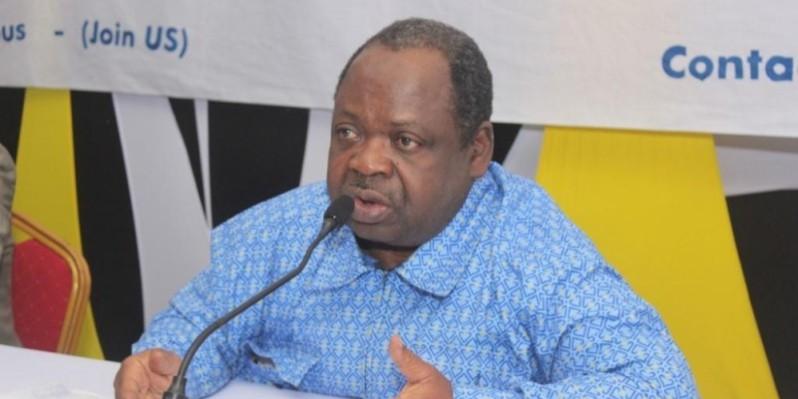 Yao Noël, président de l'Union des journalistes de la presse libre africaine (Ujpla). (photo: Dr)