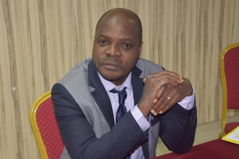 Wenceslas Assohou, Président du conseil d'administration de l'Ong ACAT-CI. (DR)