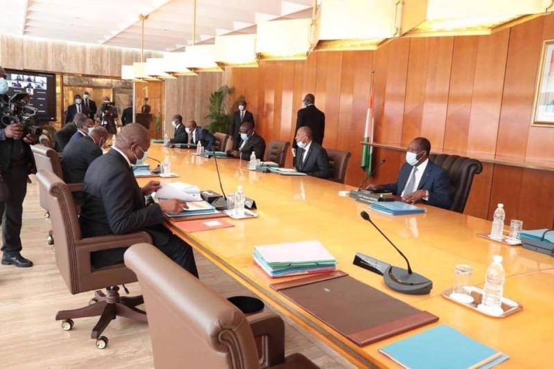 Le gouvernement s'est réuni en Conseil des ministres ce mercredi 19 août 2020. (Dr)
